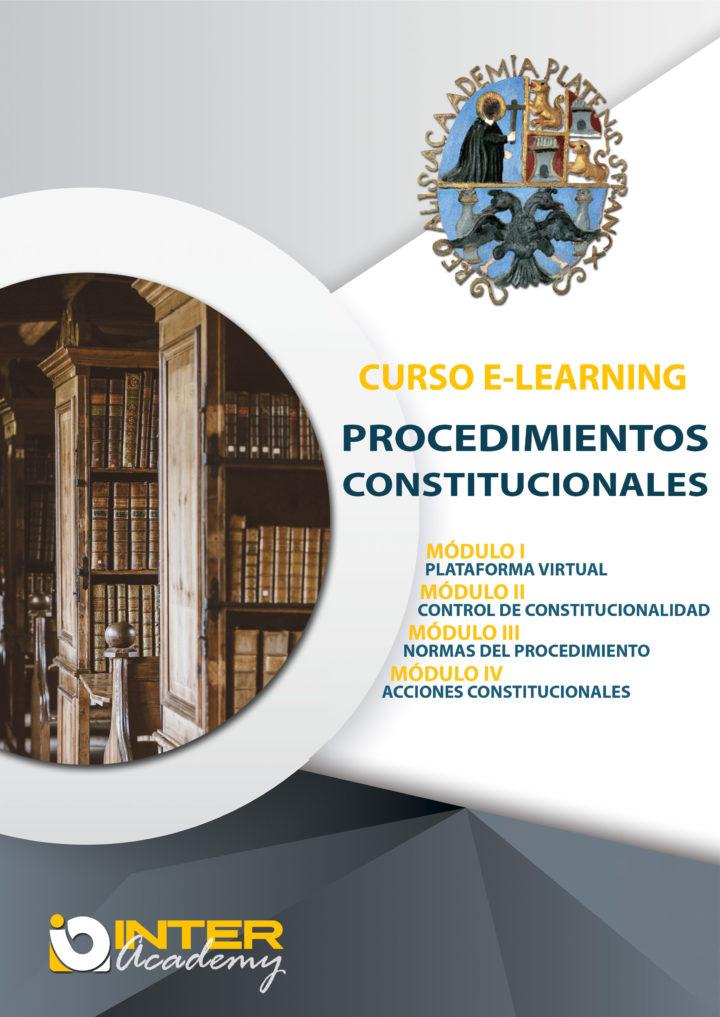 PROCEDIMIENTOS CONSTITUCIONALES. Cuarta Versión
